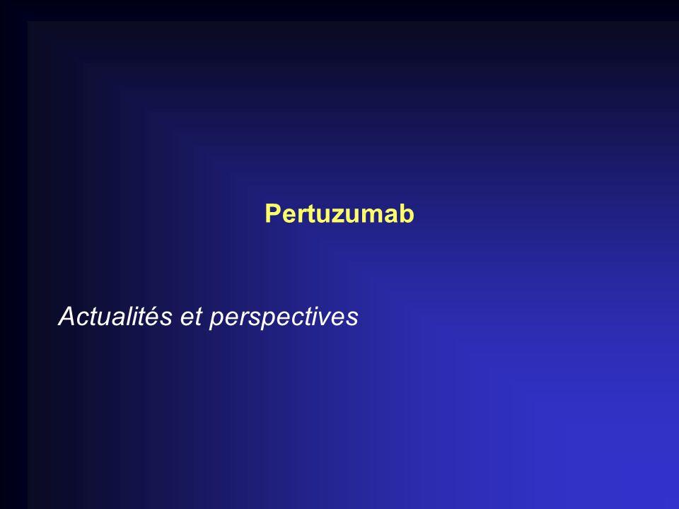 Pertuzumab Actualités et perspectives