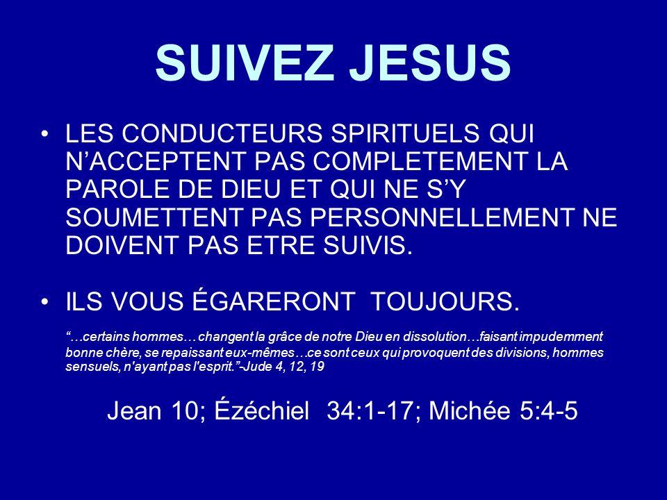 SUIVEZ JESUS