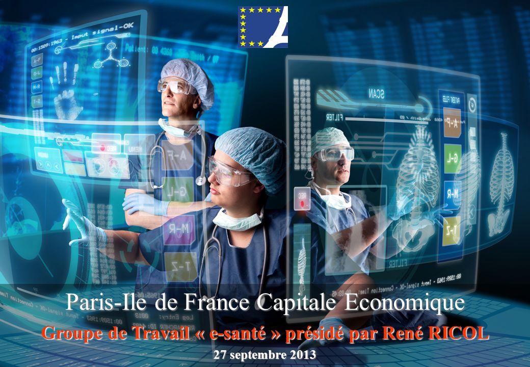 Groupe de Travail « e-santé » présidé par René RICOL