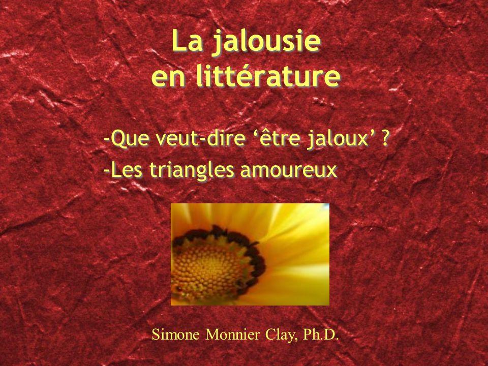 La jalousie en littérature
