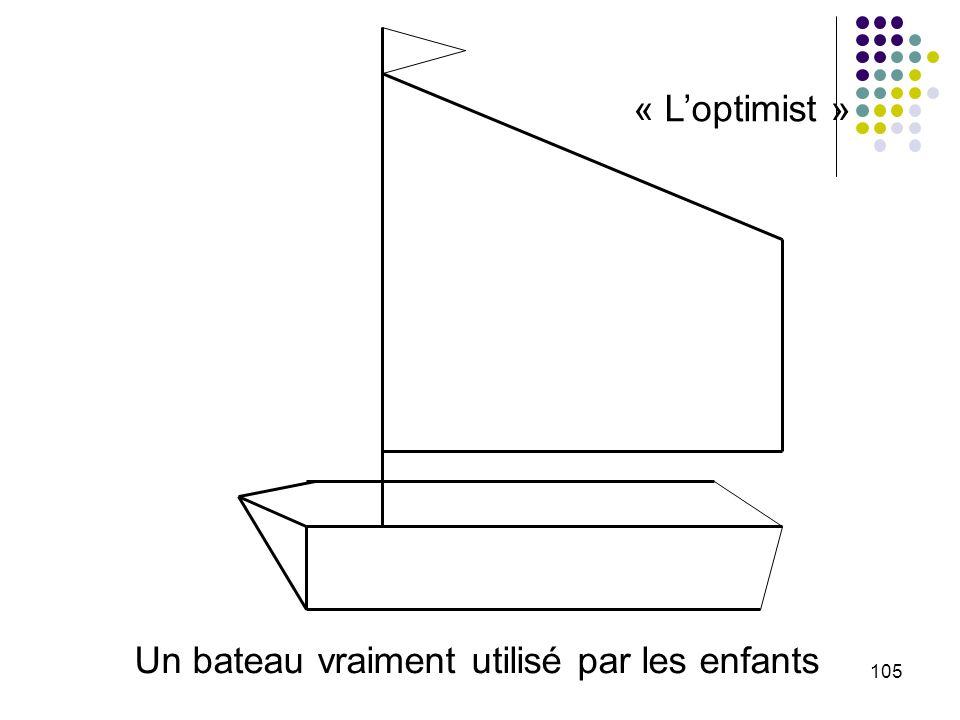 Un bateau vraiment utilisé par les enfants