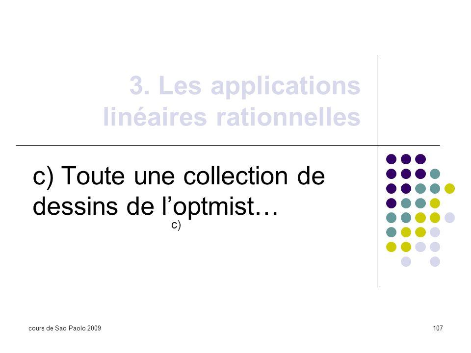 3. Les applications linéaires rationnelles