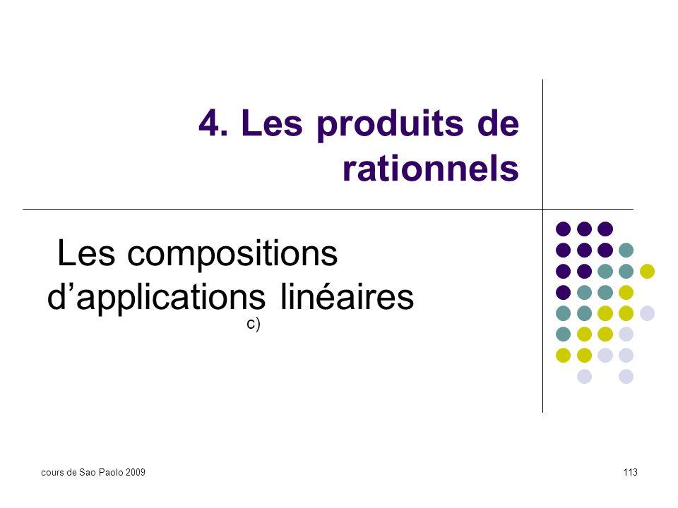 4. Les produits de rationnels