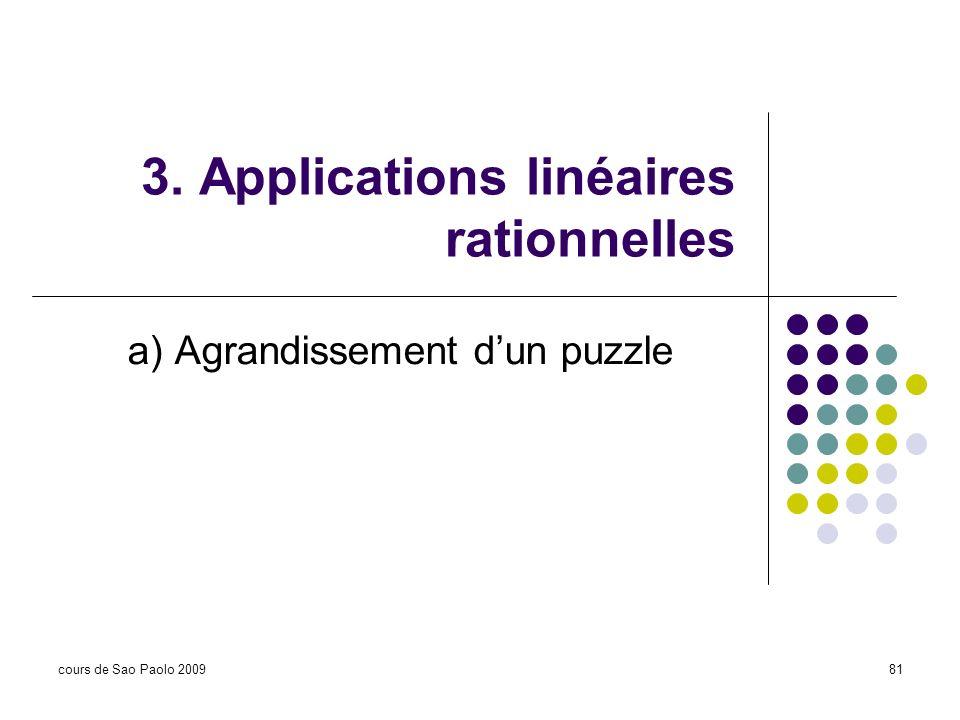 3. Applications linéaires rationnelles