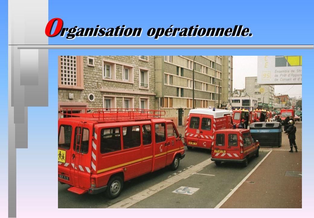 Organisation opérationnelle.