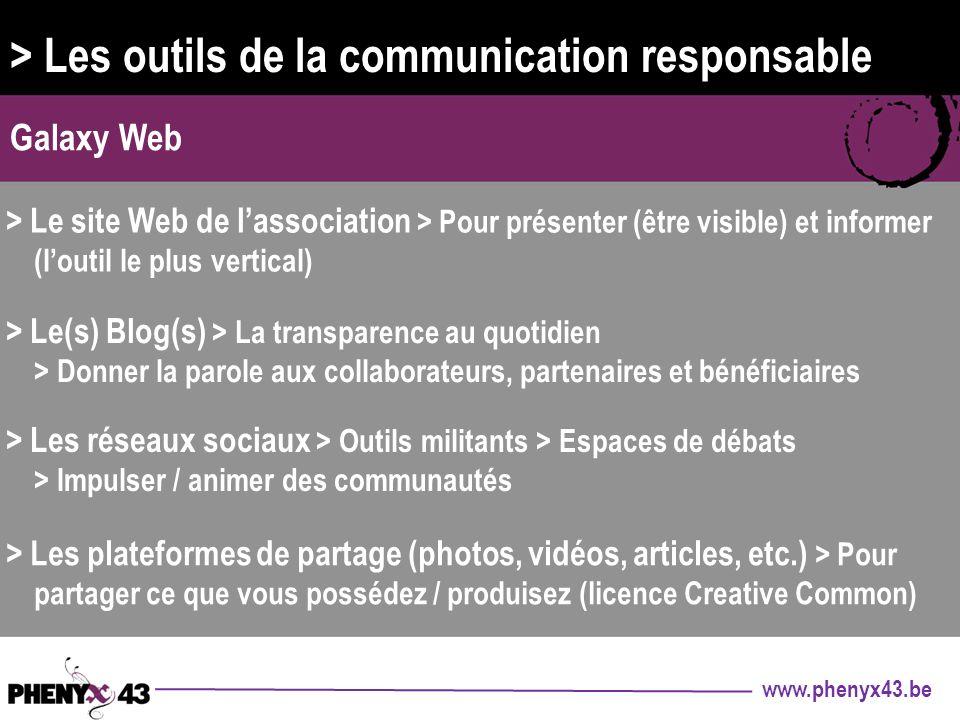> Les outils de la communication responsable