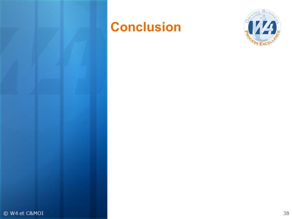 Conclusion © W4 et C&MOI