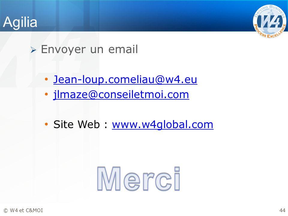 Merci Agilia Envoyer un email Jean-loup.comeliau@w4.eu