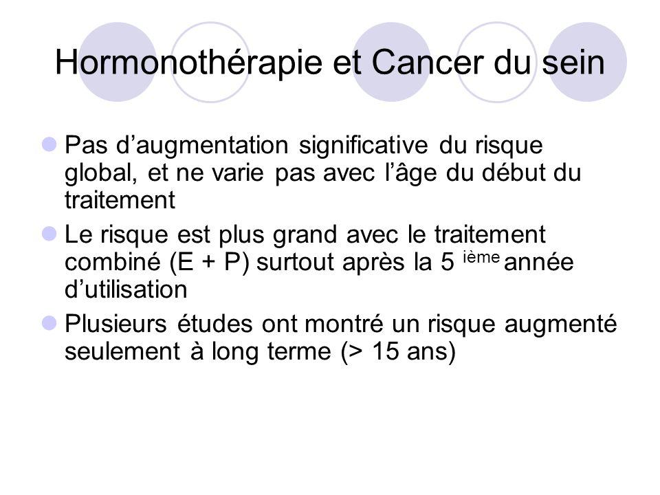 m u00e9nopause et hormonoth u00e9rapie