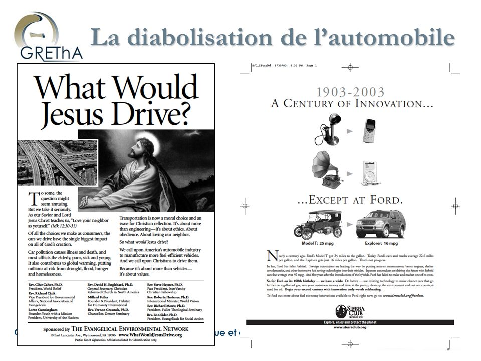 La diabolisation de l'automobile