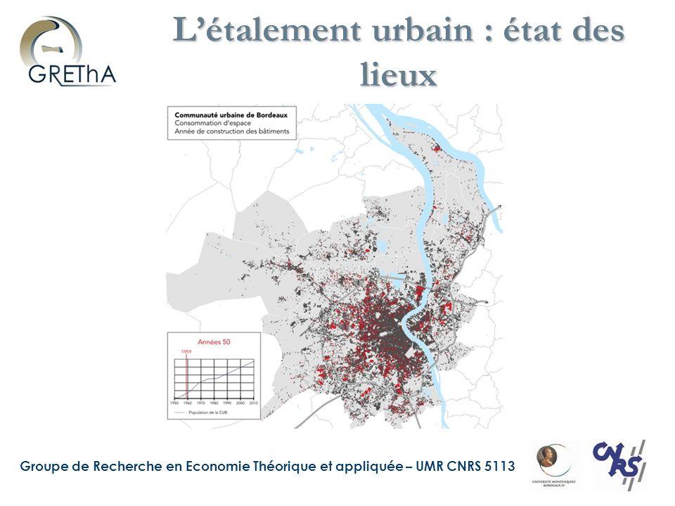 L'étalement urbain : état des lieux