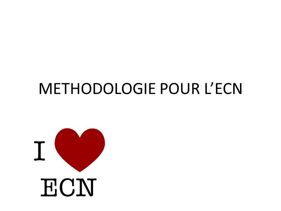 METHODOLOGIE POUR L'ECN