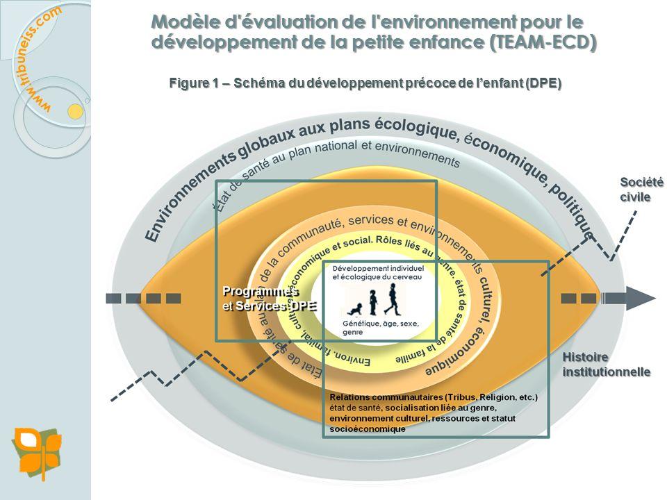 Figure 1 – Schéma du développement précoce de l'enfant (DPE)