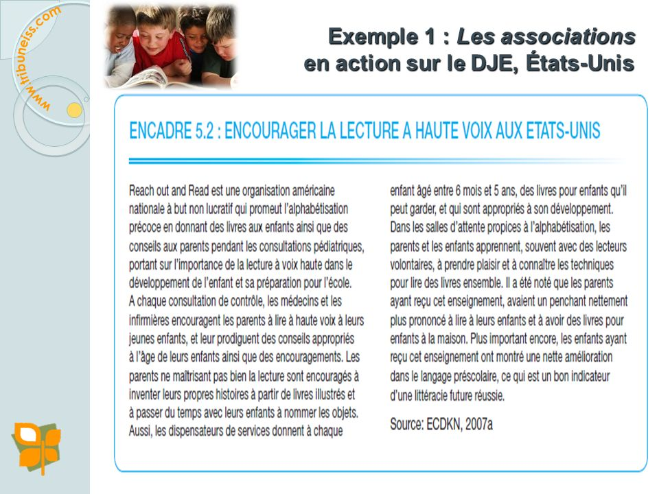 Exemple 1 : Les associations