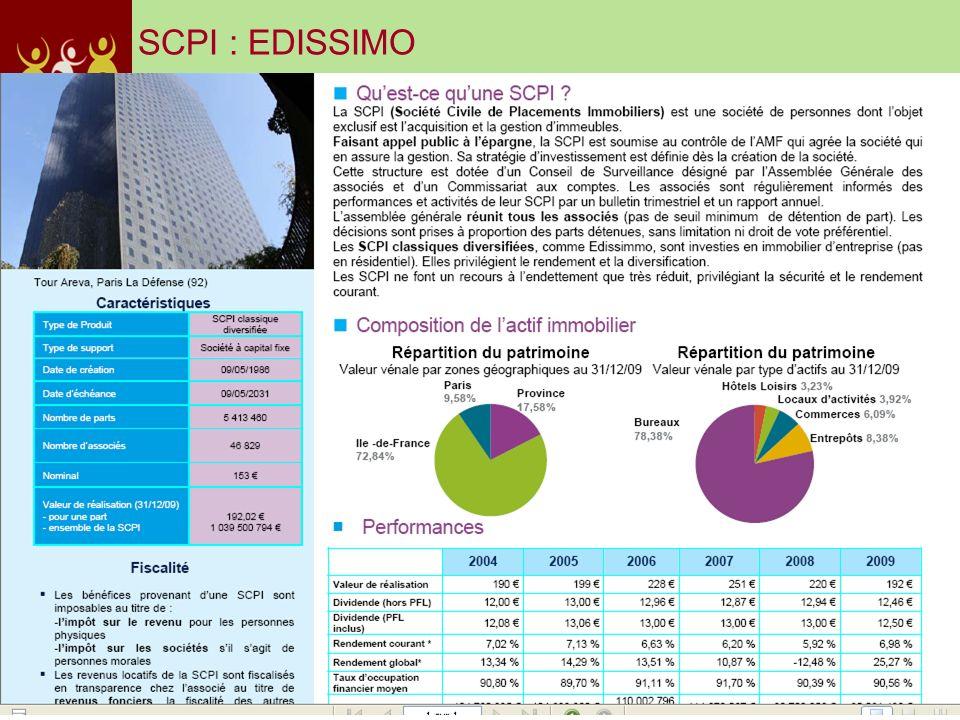 SCPI : EDISSIMO