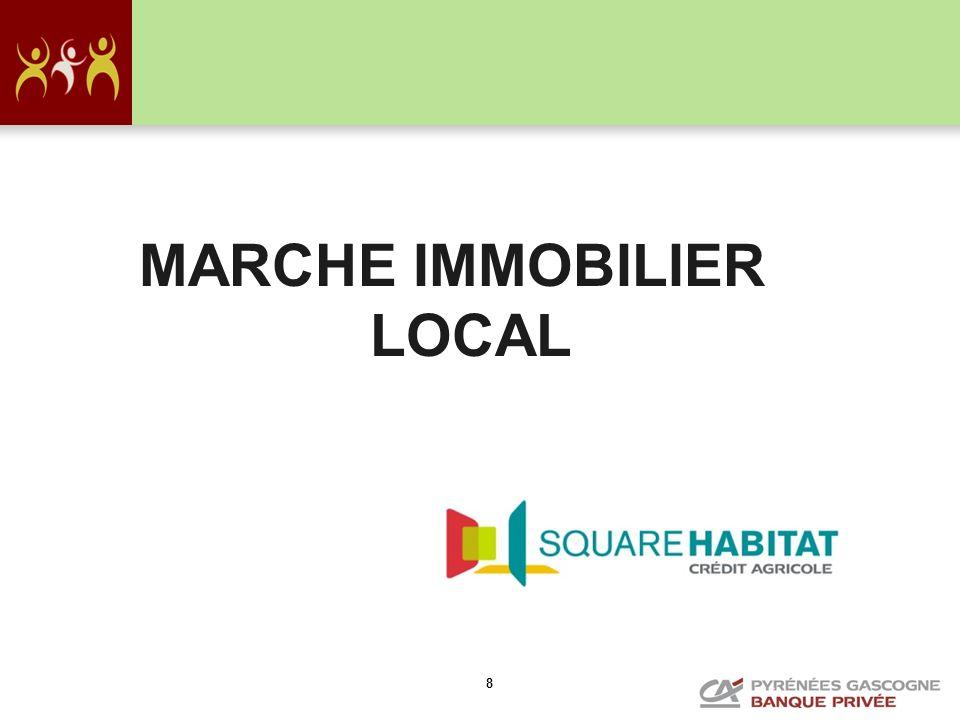 MARCHE IMMOBILIER LOCAL
