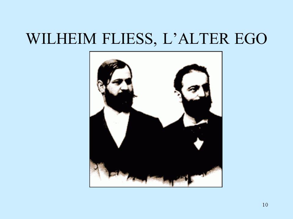 WILHEIM FLIESS, L'ALTER EGO