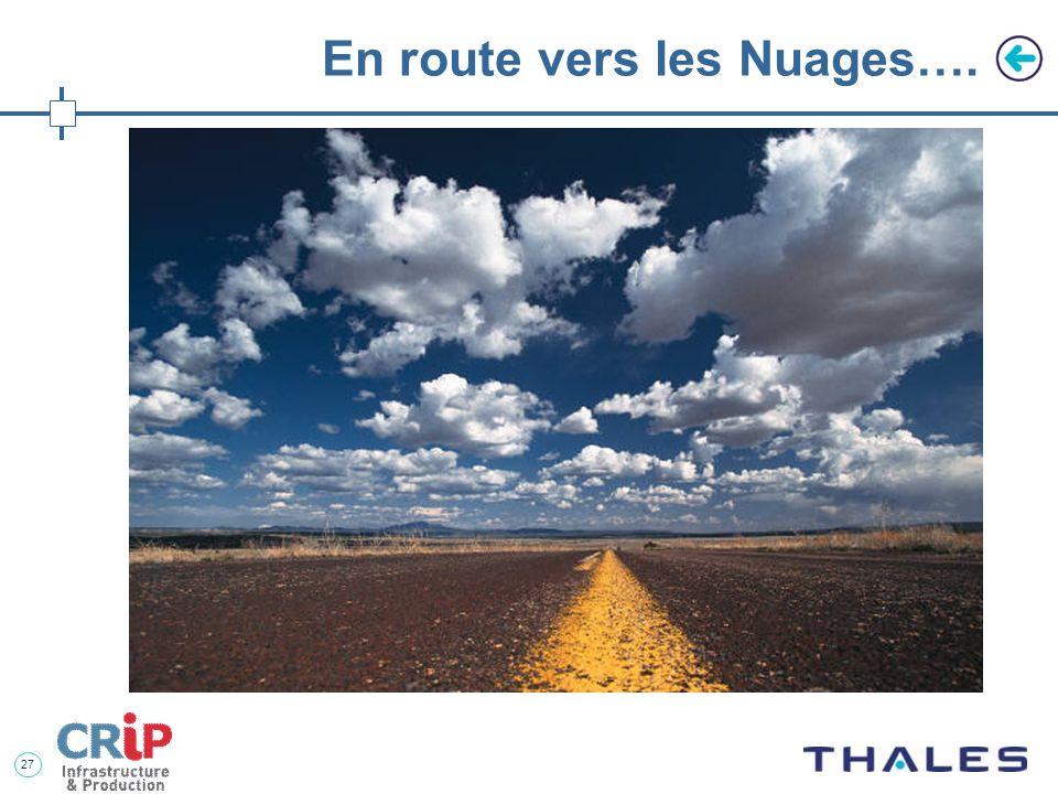 En route vers les Nuages….