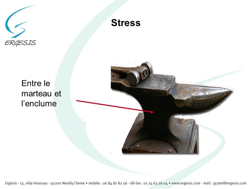Stress Entre le marteau et l'enclume