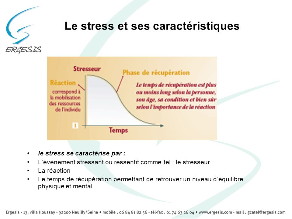 Le stress et ses caractéristiques