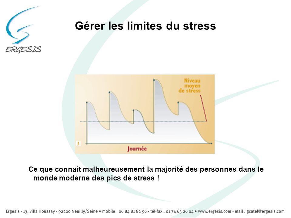 Gérer les limites du stress