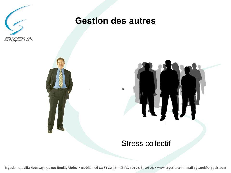 Gestion des autres Stress collectif