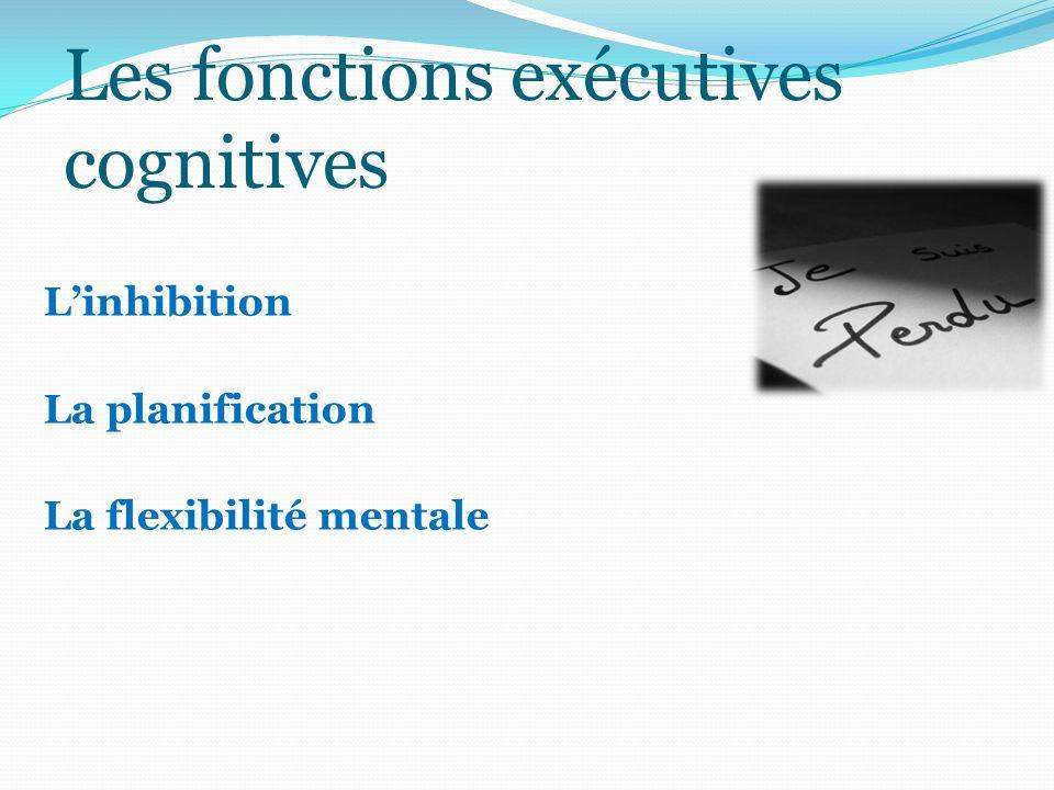 Les fonctions exécutives cognitives