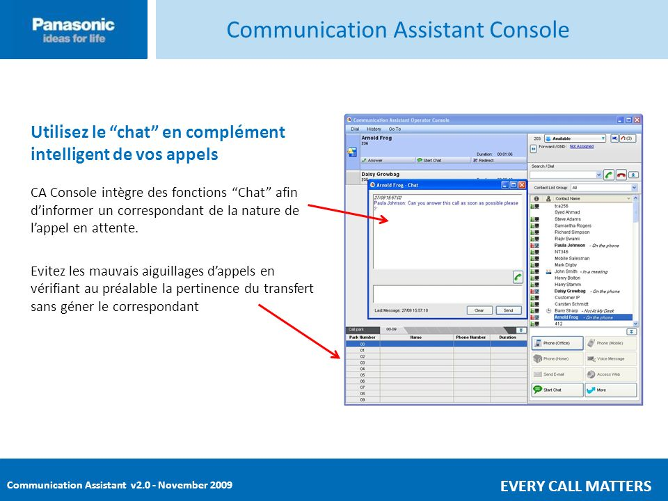 Communication Assistant Console