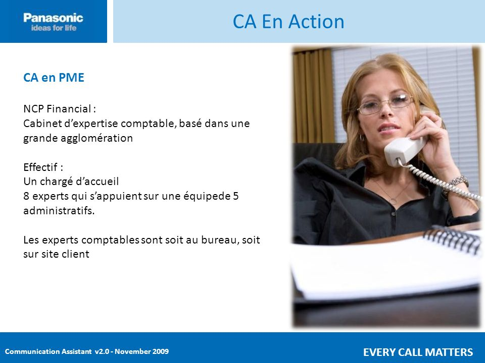 CA En Action CA en PME NCP Financial :