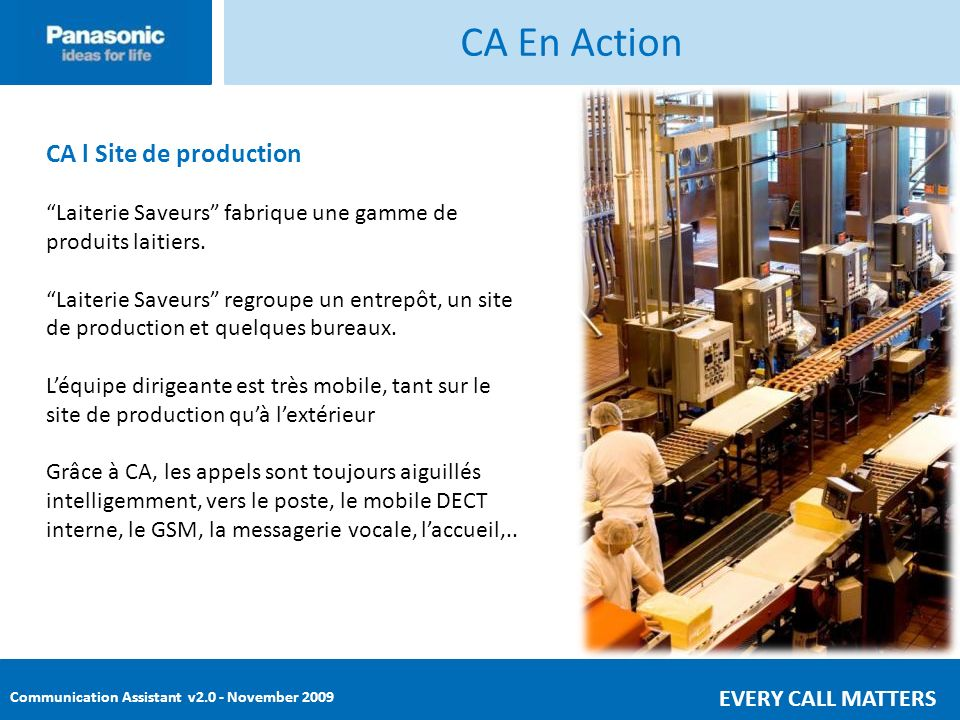 CA En Action CA l Site de production