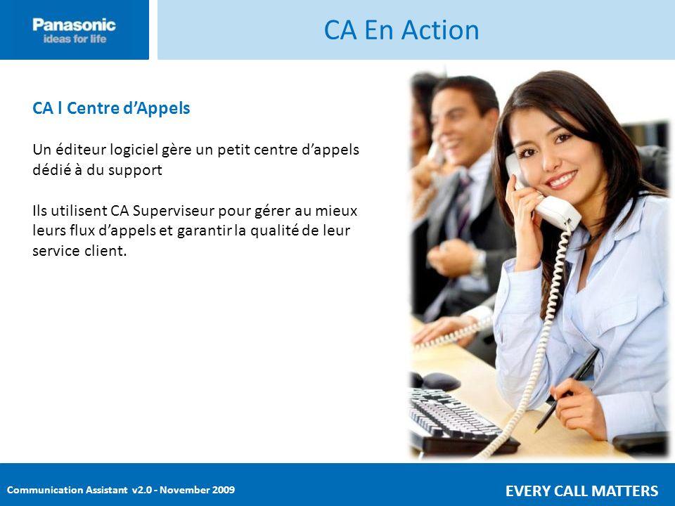 CA En Action CA l Centre d'Appels