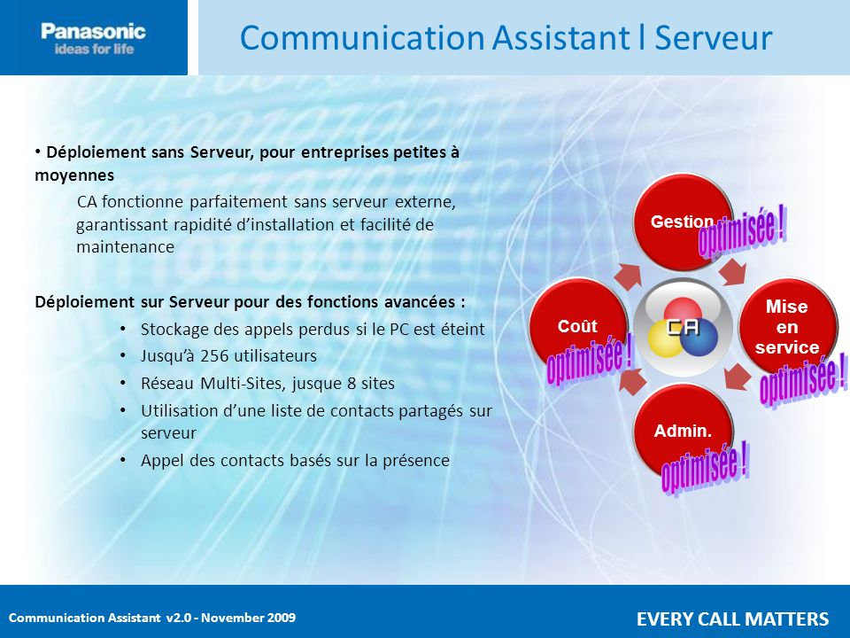 Communication Assistant l Serveur