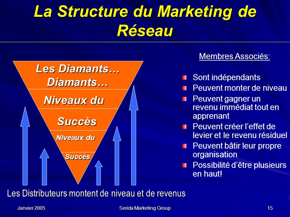 La Structure du Marketing de Réseau