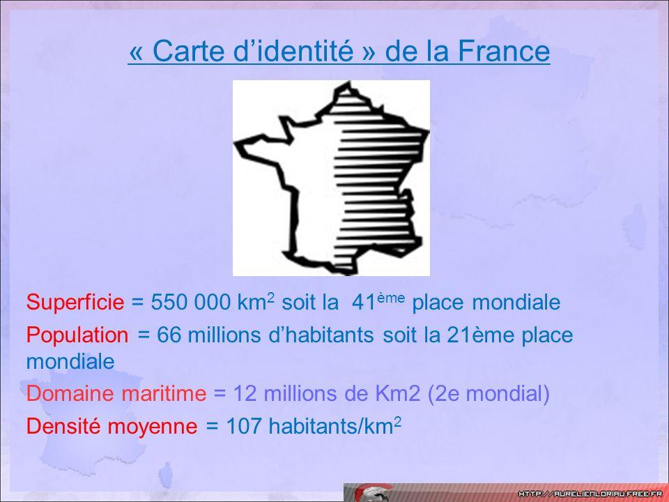 « Carte d'identité » de la France