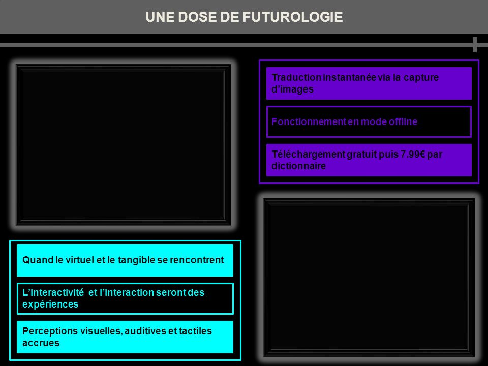 UNE DOSE DE FUTUROLOGIE