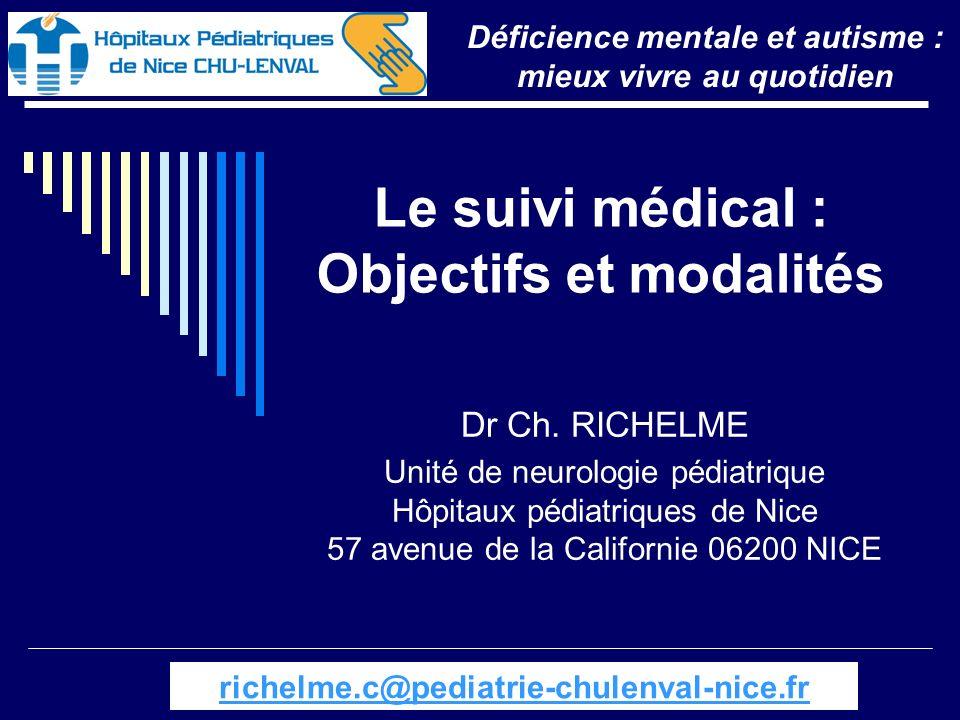 Le suivi médical : Objectifs et modalités