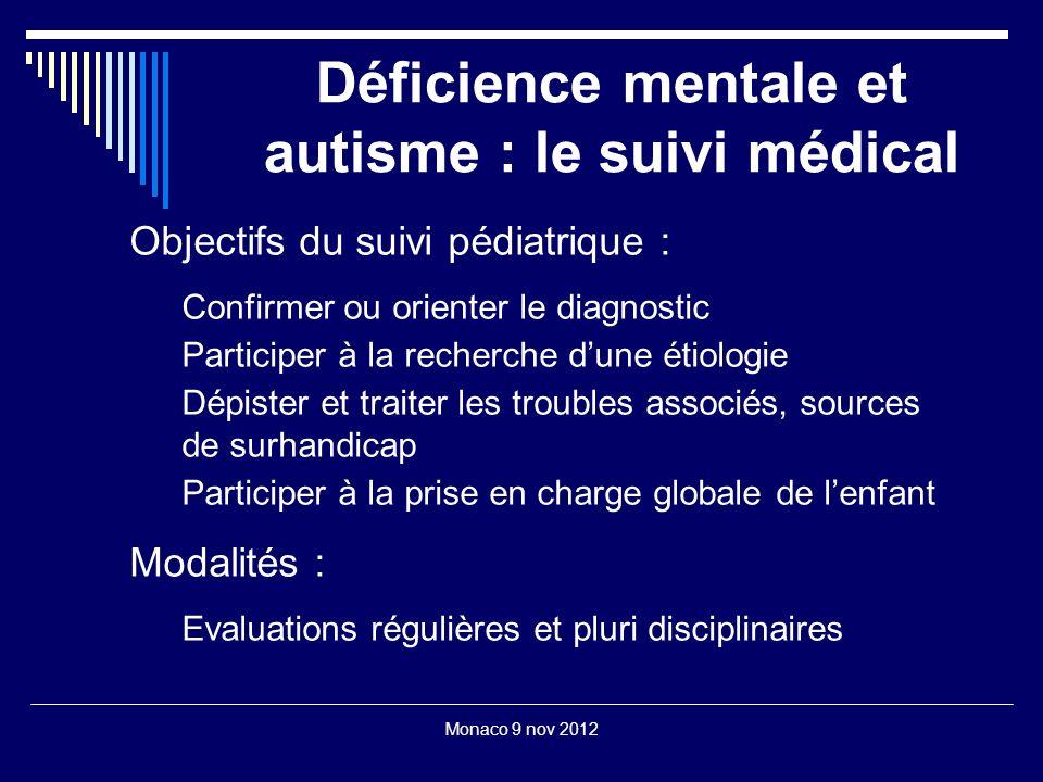 Déficience mentale et autisme : le suivi médical