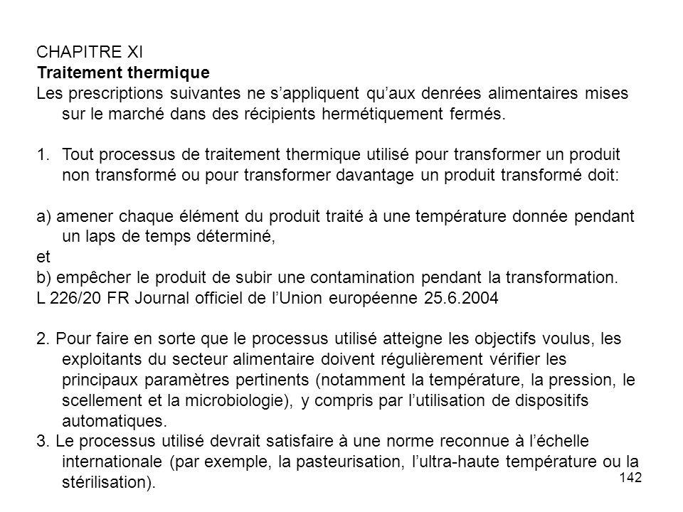 CHAPITRE XI Traitement thermique.