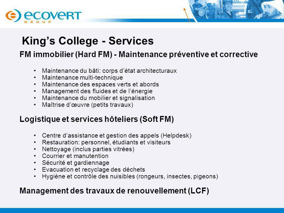 King's College - Services