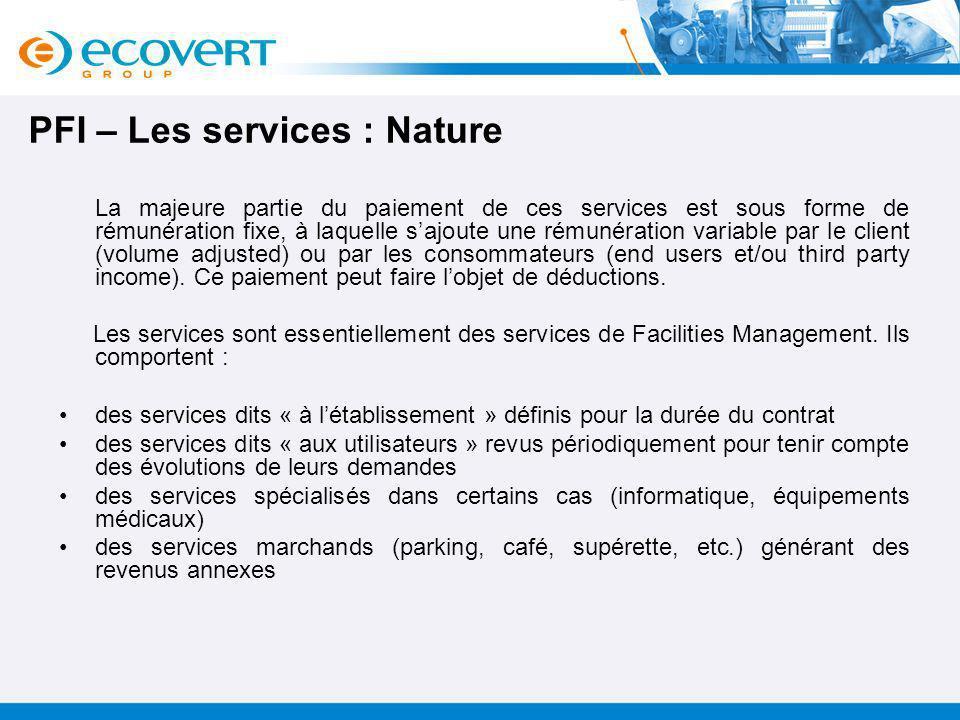 PFI – Les services : Nature