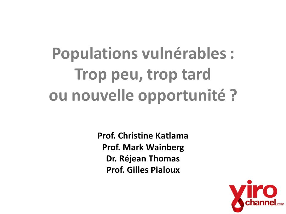 Prof. Christine Katlama