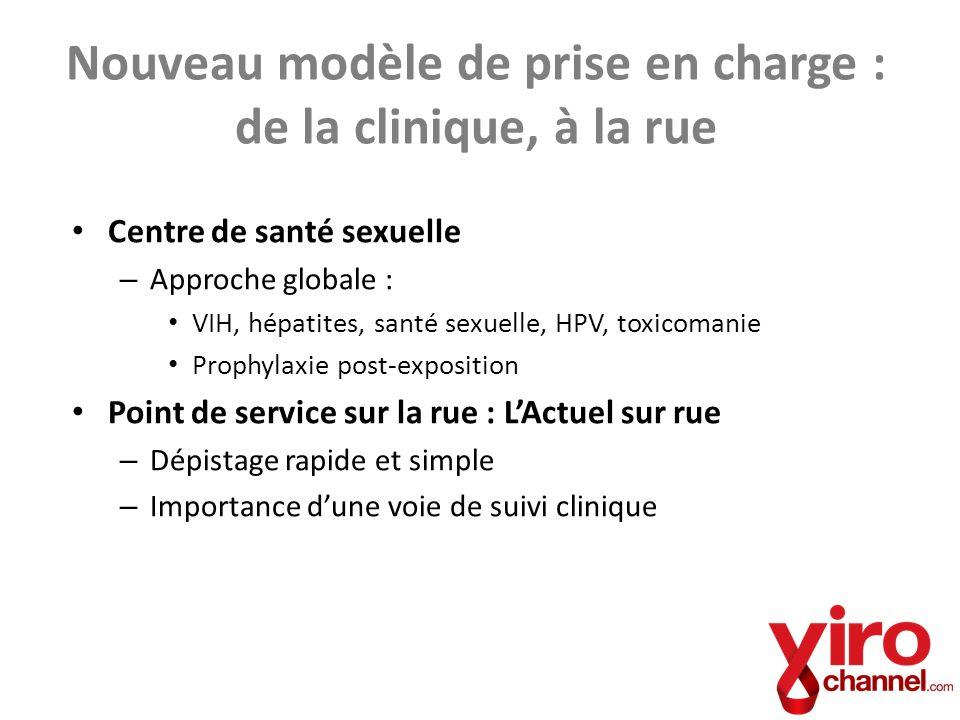 Nouveau modèle de prise en charge : de la clinique, à la rue