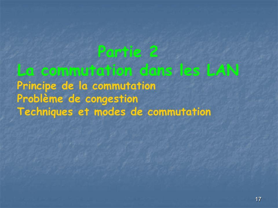 La commutation dans les LAN