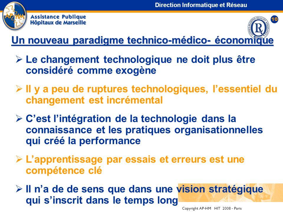 Un nouveau paradigme technico-médico- économique