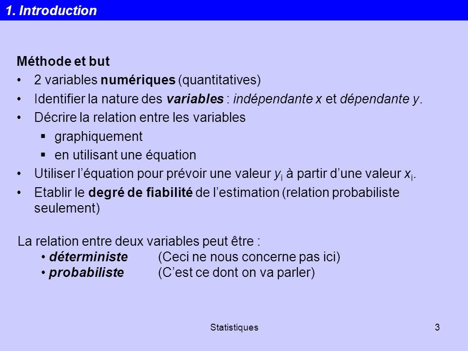 2 variables numériques (quantitatives)