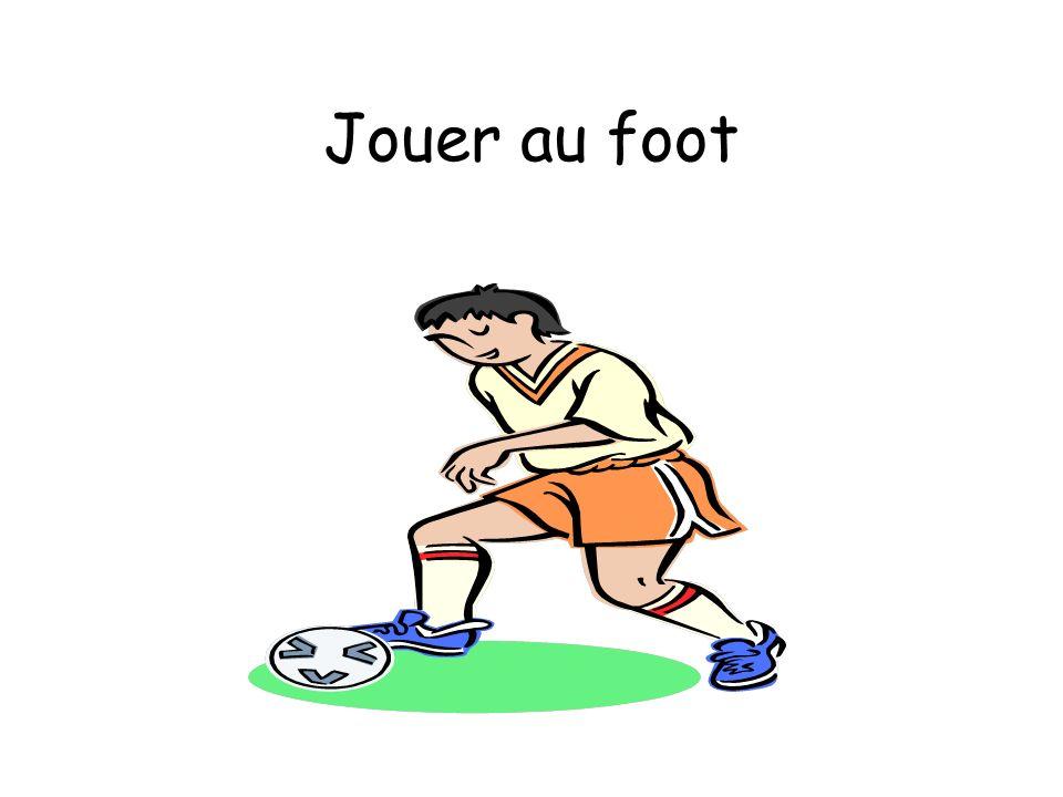 Jouer au foot