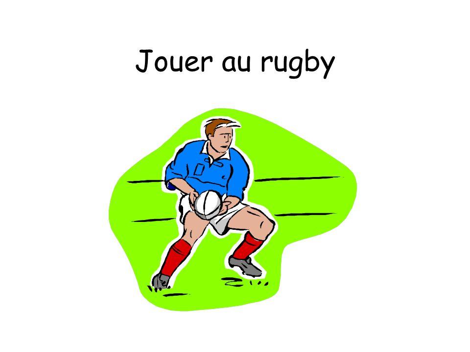 Jouer au rugby