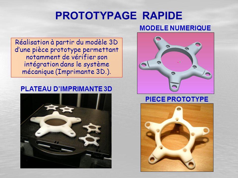 PLATEAU D'IMPRIMANTE 3D