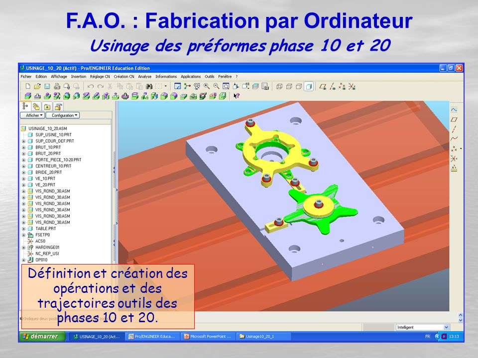 F.A.O. : Fabrication par Ordinateur