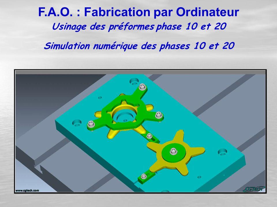 Simulation numérique des phases 10 et 20